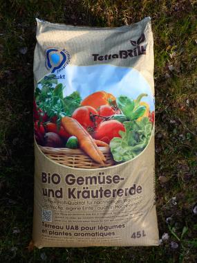 Bio Gemüse- und Kräutererde